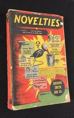 Johnson Smith & Co Novelties Catalog #472 1948 Collectible 1 Qty