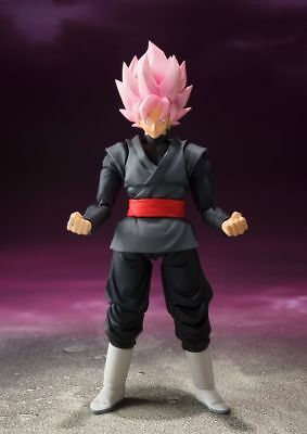 Dragon Ball Super Goku Black Rose Ssr S.h. Figuarts Bandai New Nueva