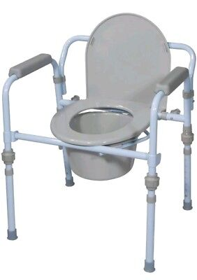 Drive Bedside Commode Bathroom Toilet Seat Chair Portable Handicap Elderly Potty