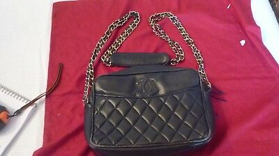 Sac A Main Chanel Vintage Modele Camera Handbag Chanel Vintage Model Camera 9e20d6d6c7e4