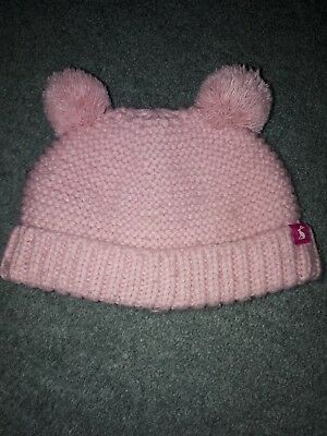 Baby Girls Joules Hat  6-12 Months