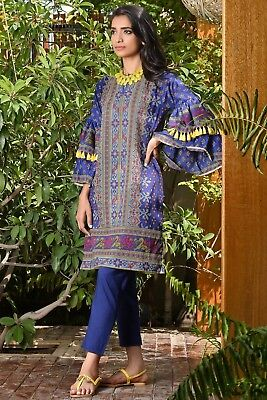 Khaadi 100% Original Embroidred Designer Unstitched Suit Other Women's Clothing Maria B Sana Safinaz