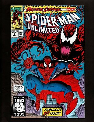Spider-Man Unlimited #1 (1993) Marvel Comics Giant-Size Maximum Carnage Part 1