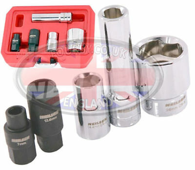 Land Rover 200 & 300 Tdi Bosch VE injection pump specialist socket tool set