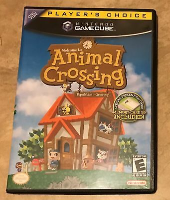 Animal Crossing EMPTY REPLACEMENT CASE - Gamecube NO game NO Book