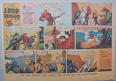 Lone Ranger Sunday Page by Fran Striker and Ed Kressy from 2/19/1939