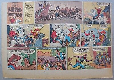 Lone Ranger Sunday Page by Fran Striker and Ed Kressy from 1/22/1939