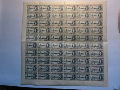 British Solomon Islands 1946 Victory stamps 1 1/2d full sheet 60 stamps mint