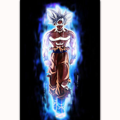 Art Hot Dragon Super Ultra Instinct Goku Japan Anime Poster 30 24x36 P902