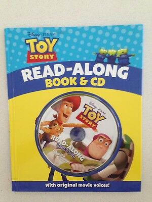 Toy Story Children Read Along Book With Cd Original Movie Voices Educational New