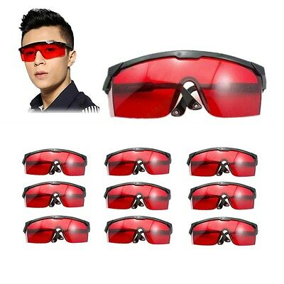 69ddf082788 10Pcs Eye Protection Safety Glasses Goggles Sunglasses 190nm-540nm For  Laser Pen