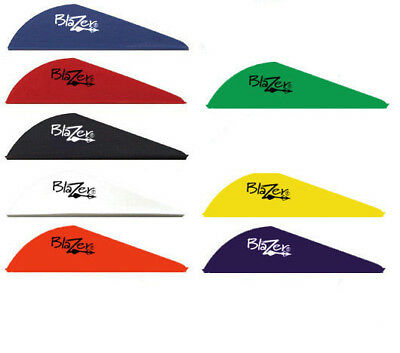 50/100 Pack Vanes Arrow Fletching 2 inch Vanes 8 Colors Choices