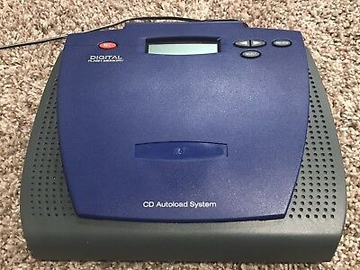 On-Hold Plus CD-8500 CD Autoload Music Player System  W/ Digital Flash Memory