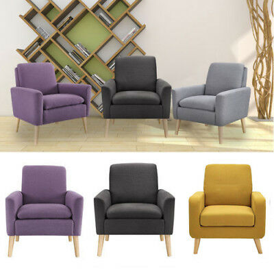 Leisure Arm Chair Accent Single Sofa Home Rest Seats Soft Furniture