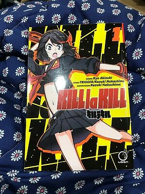 Kill La Kill Manga Graphic Novel Volume 1 English Excellent Condition!!
