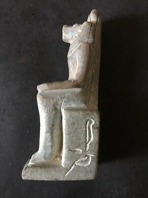 Rare Ancient Egyptian Seated Sekhmet 1403-1365 BC