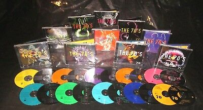 Pristine! Rare TIME LIFE Complete 20 CD SET THE 70s Seventies Sounds Of