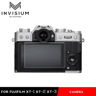 INVISIUM LCD Screen Protector Film Guard for Fuji Fujifilm X-T1 X-T2 X-T3 Camera