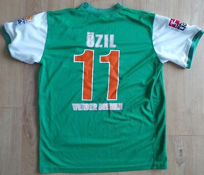 low priced ce694 d3822 Werder Bremen Germany 2009/2010 Home Football Shirt - 'ozil 11' - Nike