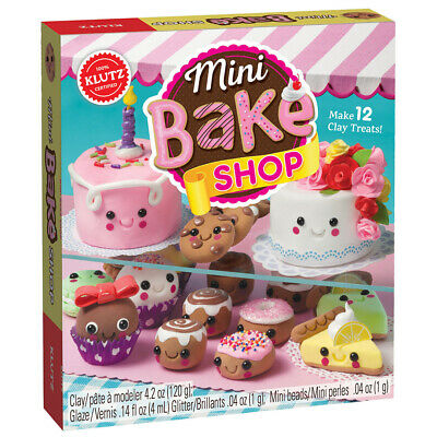 Klutz Mini Bake Shop - Kinder Bakery Air Dry Clay Modellier Kit
