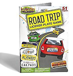 Imaginetics Road Trip License Plate Game – Includes 51 Magnets