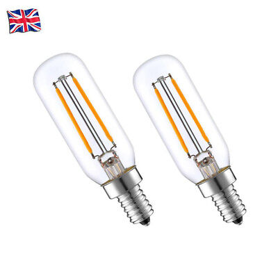 2 Pack 3W LED Cooker Hood Extractor Fan Bulb Warmwhite Light SES E14 Small Screw
