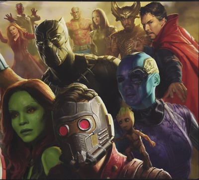 Road to Marvel's Avengers: Infinity War - The Art of the Marvel #X7