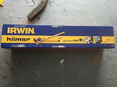 HILMOR GLM Irwin 15mm/22mm Copper Stainless Pipe Bender Formers Guides HILGLM