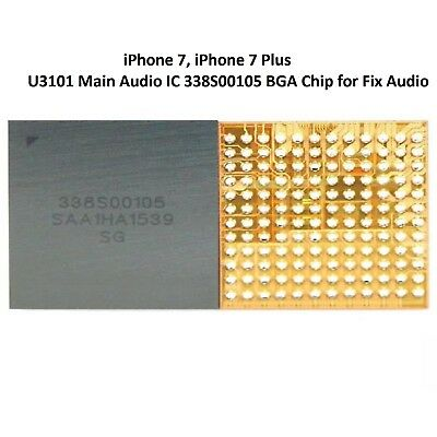 U3101 Main Audio IC 338S00105 BGA Chip for Fix iPhone 7, iPhone 7 Plus Audio