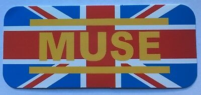 Muse UK Music Band Logo Sticker Decal Vinyl Rock Metal Car Bumper