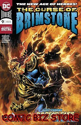 Curse Of Brimstone #9 (2018) 1St Printing Dark Knight Metal Dc Universe