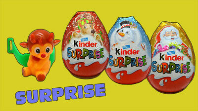 3X Kinder Surprise® Gift Chocolate Toy Inside