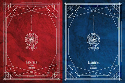 UP10TION [Laberinto] 7th Mini Album, CD+Poster+Photobook+Photocard