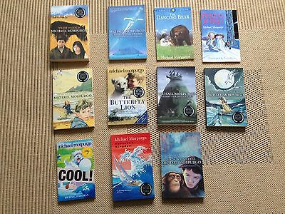 11 x Michael Morpurgo Books Collection - Twist of Gold, The Butterfly Lion, etc