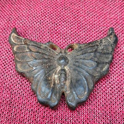 Ancient Chinese hongshan culture,old jade carved,Ancient butterfly Statue A3102