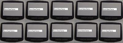 92 Custom LOT Replacement Screen Lens and battery covers for GBA GBC GBP gbp