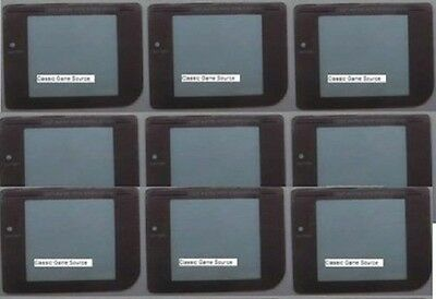 72 Piece Wholesale LOT Replacement Screens & Battery covers For Game Boy