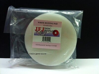 Original JFJ Single Arm White Buffing Pad for Gamecube