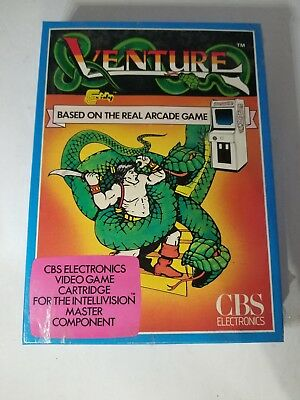NEW SEALED VENTURE GREEN SNAKE CBS VER GAME FOR THE INTELLIVISION CONSOLE i24