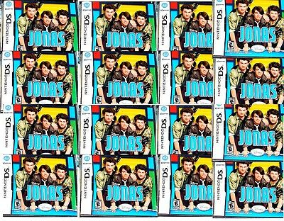 16 Lot Wholesale Of Jonas Games For Nintendo Ds Nds All New Factory Sealed