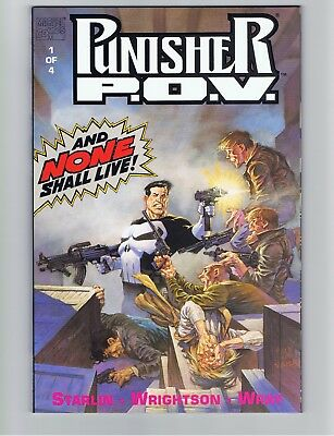 Punisher: P.O.V.  #1 of 4, 1991,  NM+ (Unread copy)