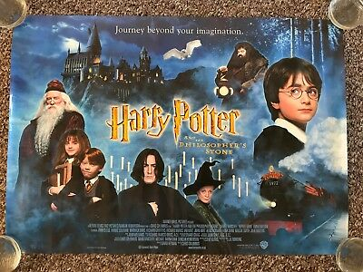 Harry Potter And The Philosopher's Stone Size A2 Original 2001 Movie Poster B