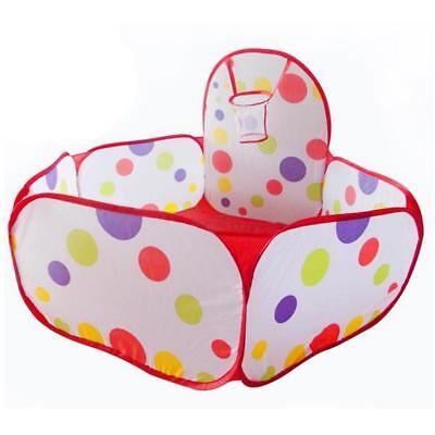 Portable Hexagon Ball Pit Pool Game Play Toy Tent For Kids Child Baby -LI