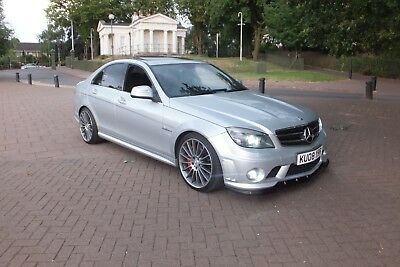 Mercedes C63 Amg 6.2 V8 Saloon In Iridium Silver 2008