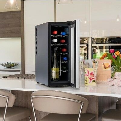 Wine Bottle Chiller Built In Under Counter Mini Cooler Fridge