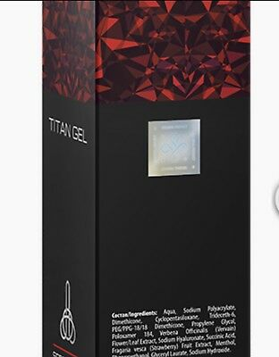 TITAN GEL 50ml ingrandimento del pene EU Market  Hologram ORIGINAL