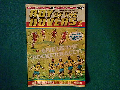 Roy Of The Rovers Comic Dated 11 April 1981