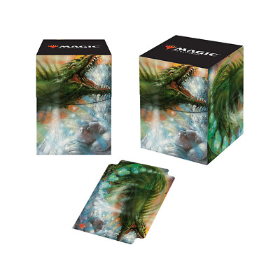 """Ultra Pro Magic 100+ """"Deck Box ONLY"""" ULTIMATE MASTERS PATTERN OF REBIRTH NO CARD"""