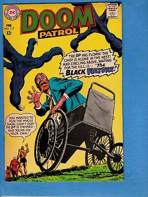 Doom Patrol #117, 1968, VF 8.0, first appearance Black Vulture