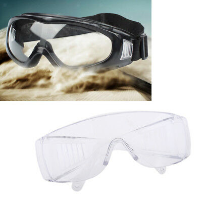 Baoblaze Eye Protection Anti Fog Clear Protective Vented Safety Lab Goggles
